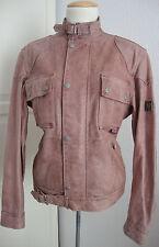 BELSTAFF NEW COUGAR VENT LADY LEATHER Jacket Damen Lederjacke Gr.38 NEU+ETIKETT