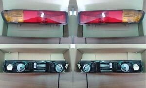Pair Tail Light For Mitsubishi Pajero 2000 Lower D-S Light