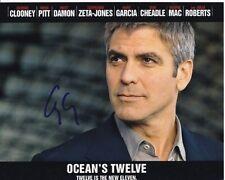 GEORGE CLOONEY Signed Autographed OCEAN'S TWELVE DANNY Photo