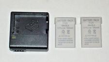 2 x EN-EL5 REPLACEMENT 1500 mAh BATTERYs & MH-61 CHARGER FOR NIKON COOLPIX S P.*