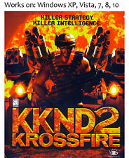 Krush Kill N Destroy 2 Krossfire PC Game KKND