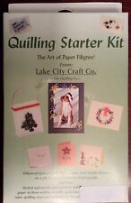 Quilling Starter Kit - Tools, Paper, Patterns, Instruction & More
