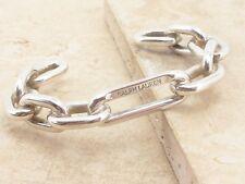 Ralph Lauren plata esterlina 925 Cadena Enlace Brazalete De Diseño