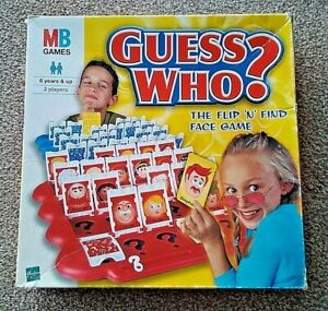 MB Games GUESS WHO? Complete.