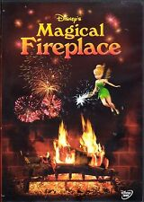 Disney's MAGICAL FIREPLACE: VIRTUAL CHRISTMAS HOLIDAY DVD w/ MUSIC & SOUNDS! OOP