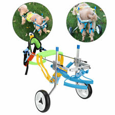 Lightweight Adjustable Pet Dog Wheelchair for Hind Legs Rehabilitation Durable