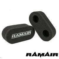 RAMAIR PERFORMANCE AIR FILTERS MS-011 MOTORCYCLE CARB SOCKS NEW