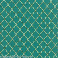 FABRIC Moda ~ CHANDELIER ~ Moda Metallics (32985 38M) Lagoon - by 1/2 yard