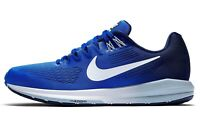 NIKE AIR ZOOM STRUCTURE 21 Runninng Trainers Gym Shoes  Multiple Sizes Mega Blue