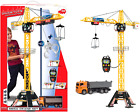 """48"""" Mega Crane and Truck Vehicle and Playset Toy Cable Remote Control Kids Gift"""
