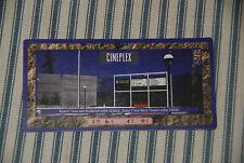 Sim City CCG -- Rare Long Card -- Cineplex -- Card Game Mayfair