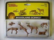 Woodland 2738 -- Hirsche und Rehe, Spur 0