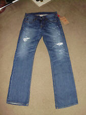 TRUE RELIGION Men's BLAKE SELVEDGE NWT 32 x 36 Oregon Trail wash American Jeans
