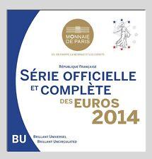BU Frankrijk 2014   * * *   coffret BU France 2014  !!!!