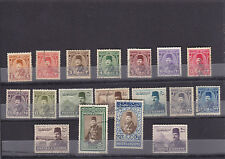 stamps EGYPT 1944 ORDINARY SET VF USED SC242:251 / 267:269 D */*