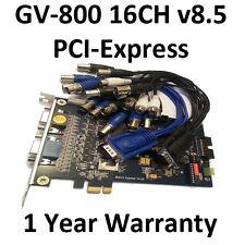 Geovision Surveillance GV 800 GV-800 DVR Capture Card PCI-E v8.5 16CH 32CH Ready