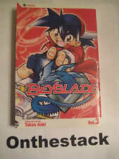 MANGA: Beyblade Vol. 1 by Takao Aoki (2004, Paperback) In new condition!