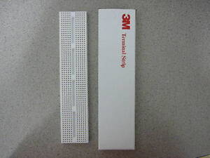 Electronics Project Breadboard 128 5 tie-point Terminals Strip (2 rows of 64) 3M