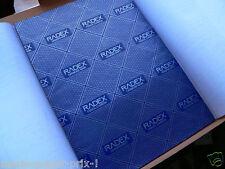 Lot de 10 feuilles papier carbone à main BLEU 21 x 29,7