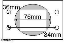 "Alliage crg intake adaptateur 3"" 76mm bmw, vw, audi, vauxhall (bosch air flow meter)"