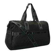 LeSportsac Solid Collection Pop LG Weekender Duffel Bag in Heritage Jet NWT
