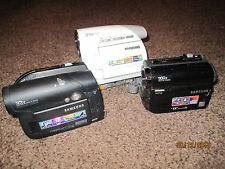 3 X Samsung Camcorders (VP-D372 + VP-D461 +VP-DC161). FAULTY!!!