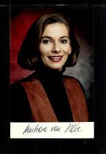 Barbara van Melle Foto Original Signiert ## BC 39375