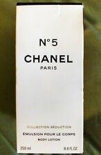 New Chanel No 5 Women's 8.4 Fl Oz 250 Ml Body Lotion Emulsion Pour Le Corps