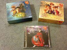 Sega Dreamcast SHENMUE I II 1 2 Limited Edition What's Shenmue Maken X Japan JP