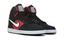 NIB NIKE Mens 11.5 SON OF FORCE MID 616281 018 BLACK RED BASKETBALL SHOES $75