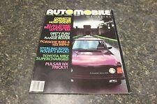 AUTOMOBILE RANGE ROVER MAGAZINE JANUARY 1987 VOL.1 #10 9248-1 [BOX E] #683