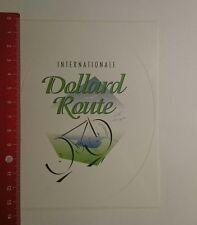 Aufkleber/Sticker: Internationale Dollard Route (14121664)