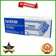 TN-6300 Brother TONER ORIGINALE nero per HL-1240 HL-1430 MFC-9650 MFC-9760