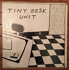no wave minimal synth SEALED LP ~ TINY DESK UNIT LIVE private label '80 ORIG WOW