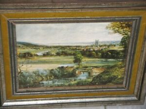 The Vale of Dedham 1828 By John Constable RA 1776-1836 British Framed Print