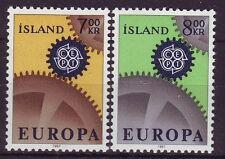 ICELAND - SG440-441 MNH 1967 EUROPA