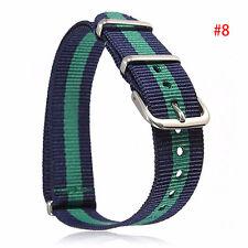 Unisex Military Army Stoff Gürtelschnalle Nylon Uhren Armband Uhren-Band Strap