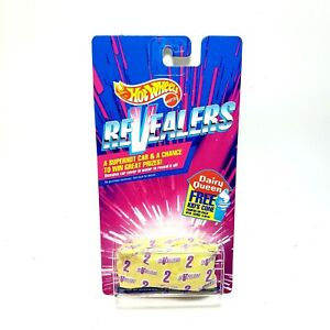 1992 Hot Wheels Revealers #2 Mystery Car & Color New Old Stock