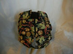 Female Dog Puppy Pet Diaper Washable Pant Sanitary Underwear XMAS BELLS XXXS