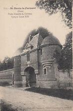 SAINT-DENIS-LE-FERMENT 3 bis porte d'entrée du château photo-éd lamaury