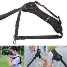 Focus F-1 Quick Rapid Shoulder Sling Belt Neck Strap for Cameras (Black)