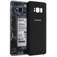 Cache Batterie Galaxy S8 Original Samsung vitre Arrière Noir