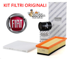 KIT FILTRI TAGLIANDO ORIGINALI FIAT 500 (312) 1.2 51KW 69CV BENZINA GPL