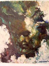 Robert FALCUCCI 1900/1989 tableau hst Portrait de BEETHOVEN compositeur musique
