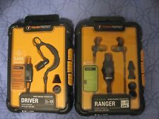 Tough Tested Driver mono earbuds new and usedTough Tested Ranger stereo earbuds