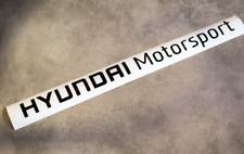 Hyundai Motorsports & N decal sticker set