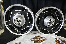 Harley Davidson OEM AirStrike 5-slot Wheel Set for Touring LOWER PRICE