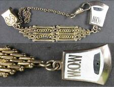 1880's Vintage Watch Fob 14K Gold~W.O.W. Woodcutters