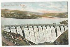 Wales - Craigoch Dam, Elan Valley - Vintage Valentine's Postcard