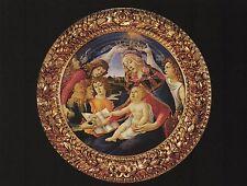 """*Postcard-""""Religious...""""Madonna Del Magnificat"""" (B-136)"""